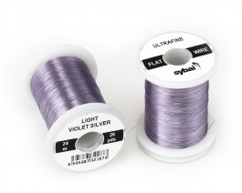 Flat Colour Wire, Ultrafine, Light Violet Silver