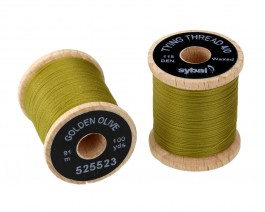 Tying Thread 4/0, Golden Olive