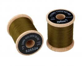 Tying Thread 4/0, Dark Golden Olive