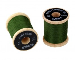 Tying Thread 4/0, Dark Olive
