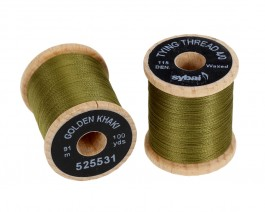 Tying Thread 4/0, Golden Khaki