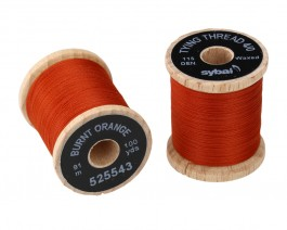 Tying Thread 4/0, Burnt Orange