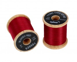 Tying Thread 4/0, Bloody Red