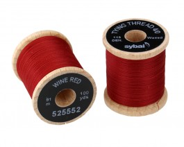 Tying Thread 4/0, Wine Red