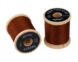 Tying Thread 4/0, Brown