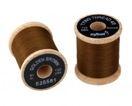 Tying Thread 4/0, Golden Brown