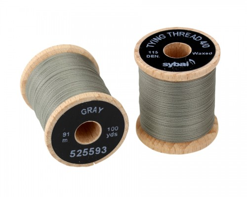 Tying Thread 4/0, Gray